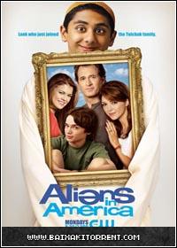 Capa Baixar Série Aliens in America   1º Temporada Completa HDTV   Torrent Baixaki Download