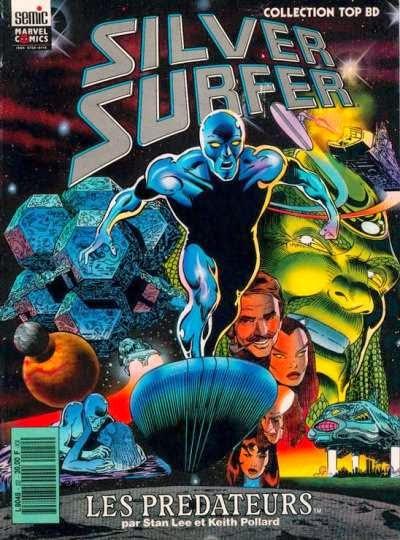 couverture Silver Surfer Prédateurs par Stan Lee et Keith Pollard chez Semic