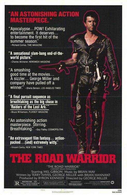 Brian vs movies the road warrior