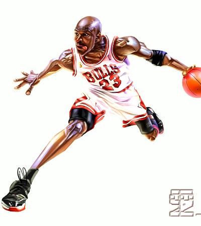 Caricaturas Michael Jordan - NBA TSEBA