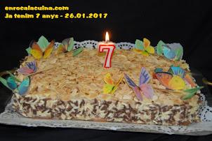Es el nostre 7é. Aniversari de bloc, Moltes gràcies a tot@s  26.01.2017