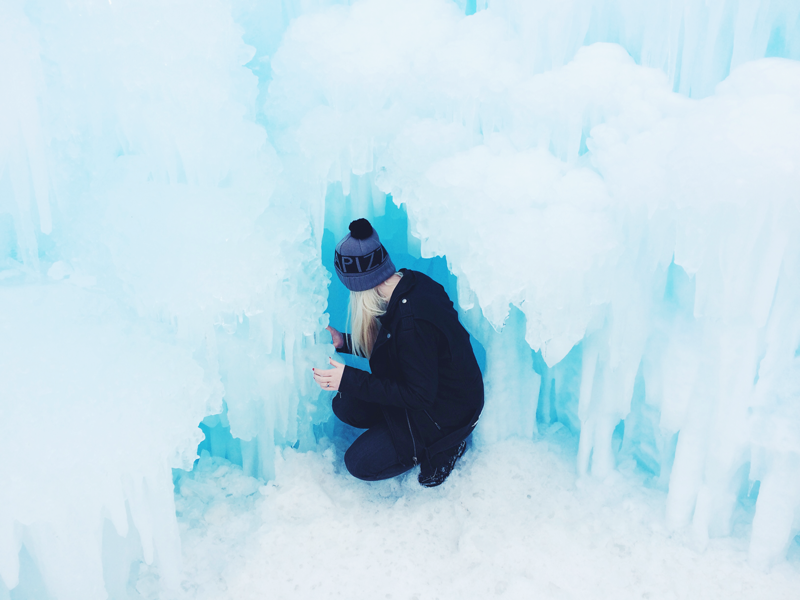 ice castling and other magical things.