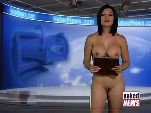 naked news ariella banks ass