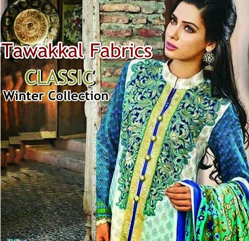 Tawakkal Fabrics Winter Classic Collection 2014-15