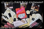 Kisse & Makeup First Blog Giveaway