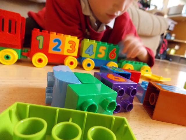 lego train building brick preschool children set