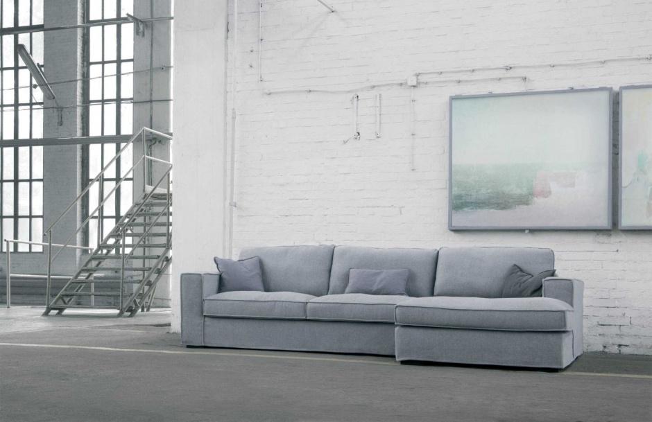 sofa gris rinconero
