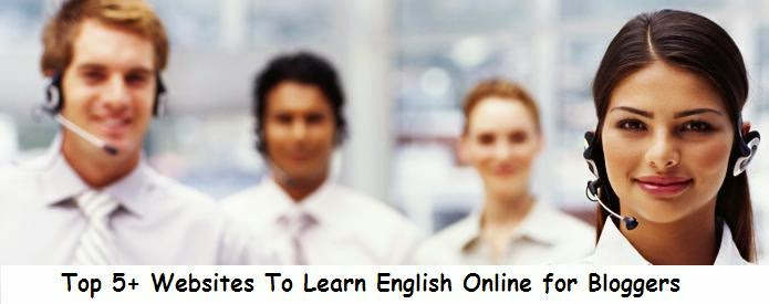 Top 5+ Websites To Learn English Online for Bloggers