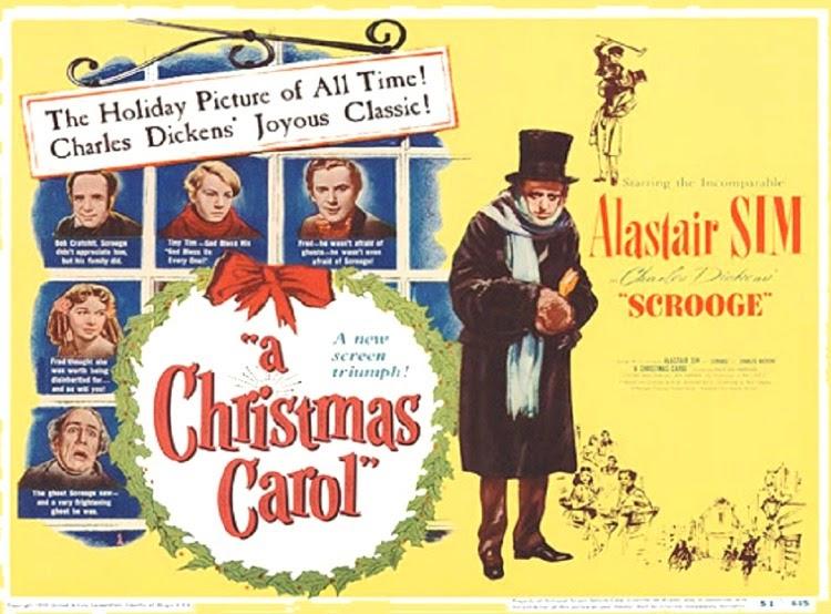 A Vintage Nerd, Vintage Blog, Vintage Christmas, Classic Christmas Films, Old Hollywood Blog, Classic Film Blog, Scrooge