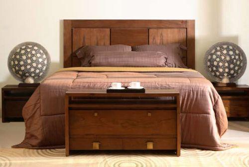 Un toque vintage cabeceros de cama en nuestra decoraci n - Cabeceros de madera rusticos ...