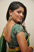 glamorous Anu Sri saree photos-thumbnail-1