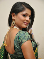 Anu Sri Glamorous photo shoot in saree-cover-photo