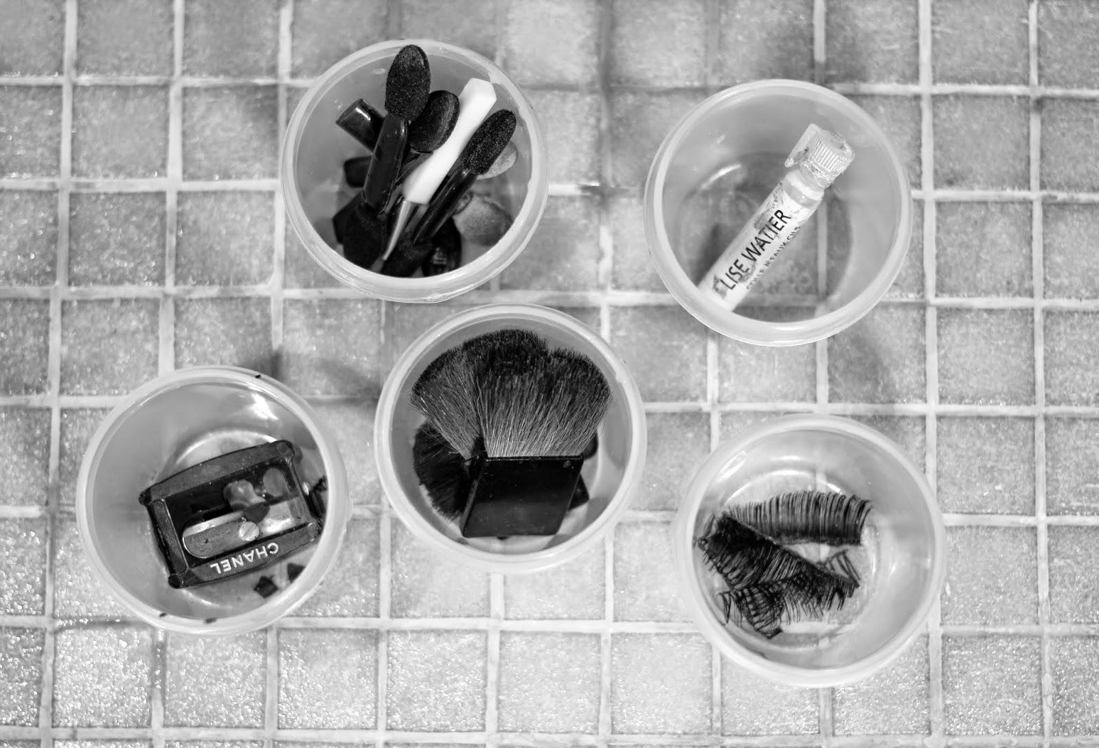 makeup, makeup organisation, makeup storage