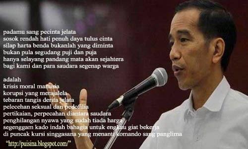 Puisi Ulang Tahun Untuk Bp. Ir Joko Widodo