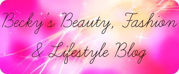 Becky | Beauty, Fashion & Lifestyle Blog