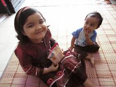 Permata hatiku....Batrisyia & Irfan