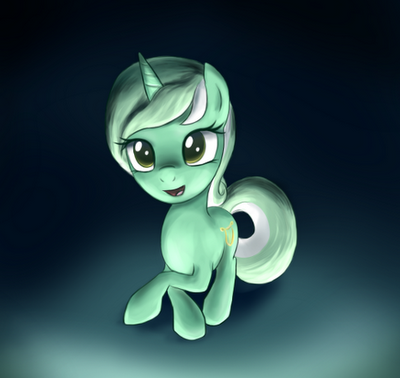 As a musician pony Lyra might have a delightful vocal. I wish I could see her singing.