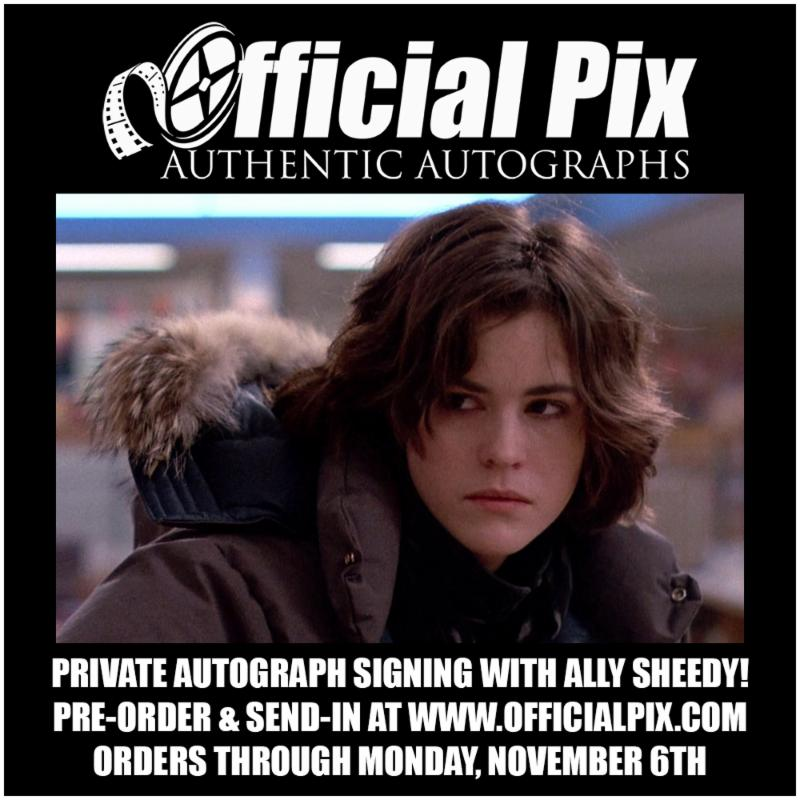 Ally Sheedy Private Signing with Official Pix