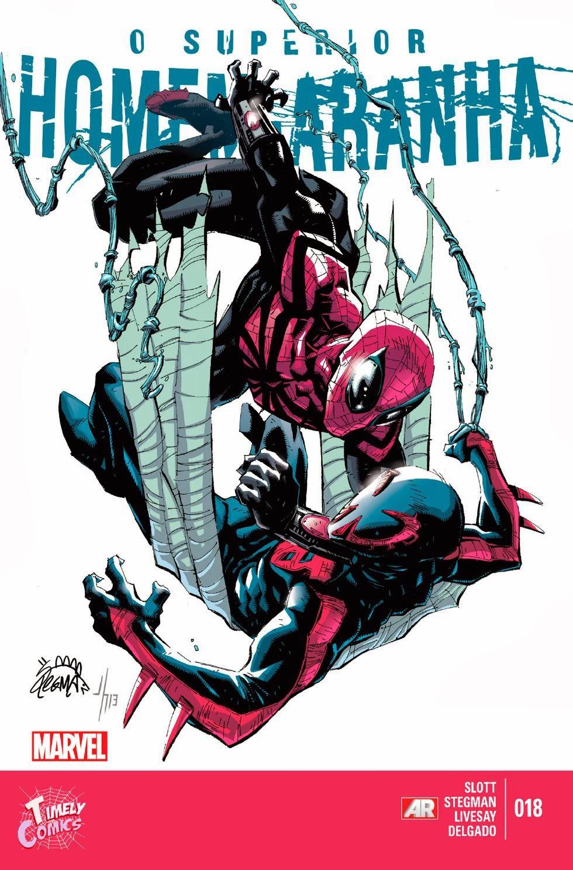 Nova Marvel! O Superior Homem-Aranha #18