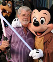 George Lucas e Mickey Mouse