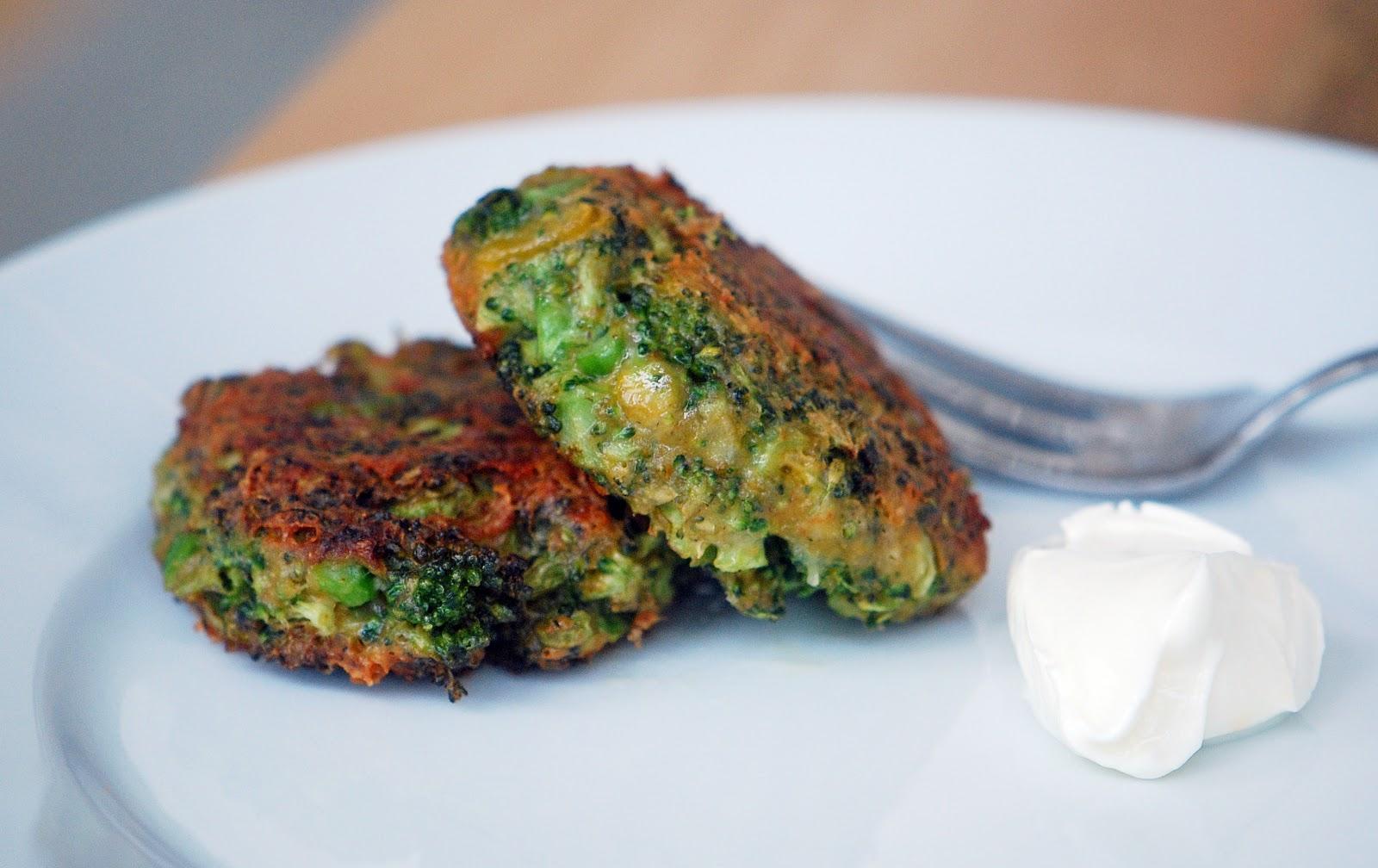Broccoli Parmesan Fritters Recipes — Dishmaps