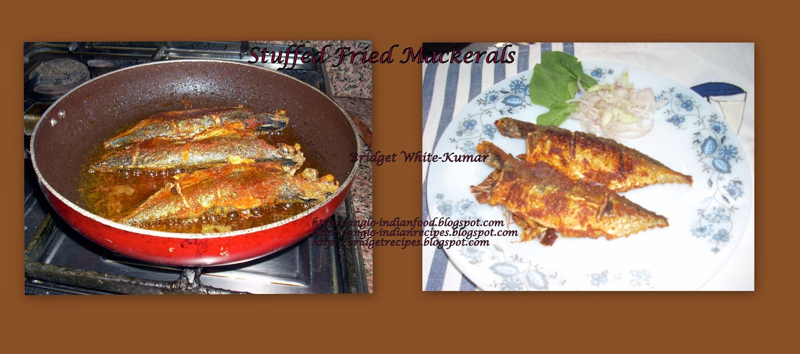 Anglo indian food by bridget white kumar stuffed fried for Anglo indian cuisine
