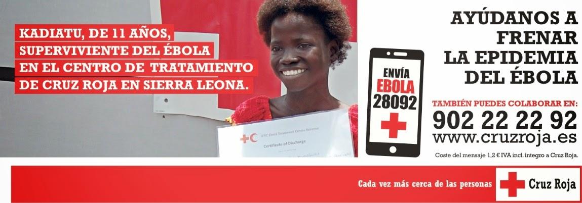 Ayúdanos a frenar la epidemia del ébola