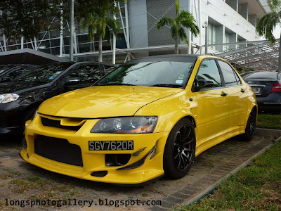 Lancer Evolution with C-West body kit