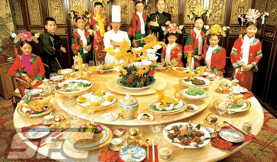 Historical and cultural food manchu han imperial feast for 8 cuisines of china