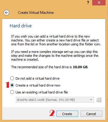 Oracle VM VirtualBox Manger