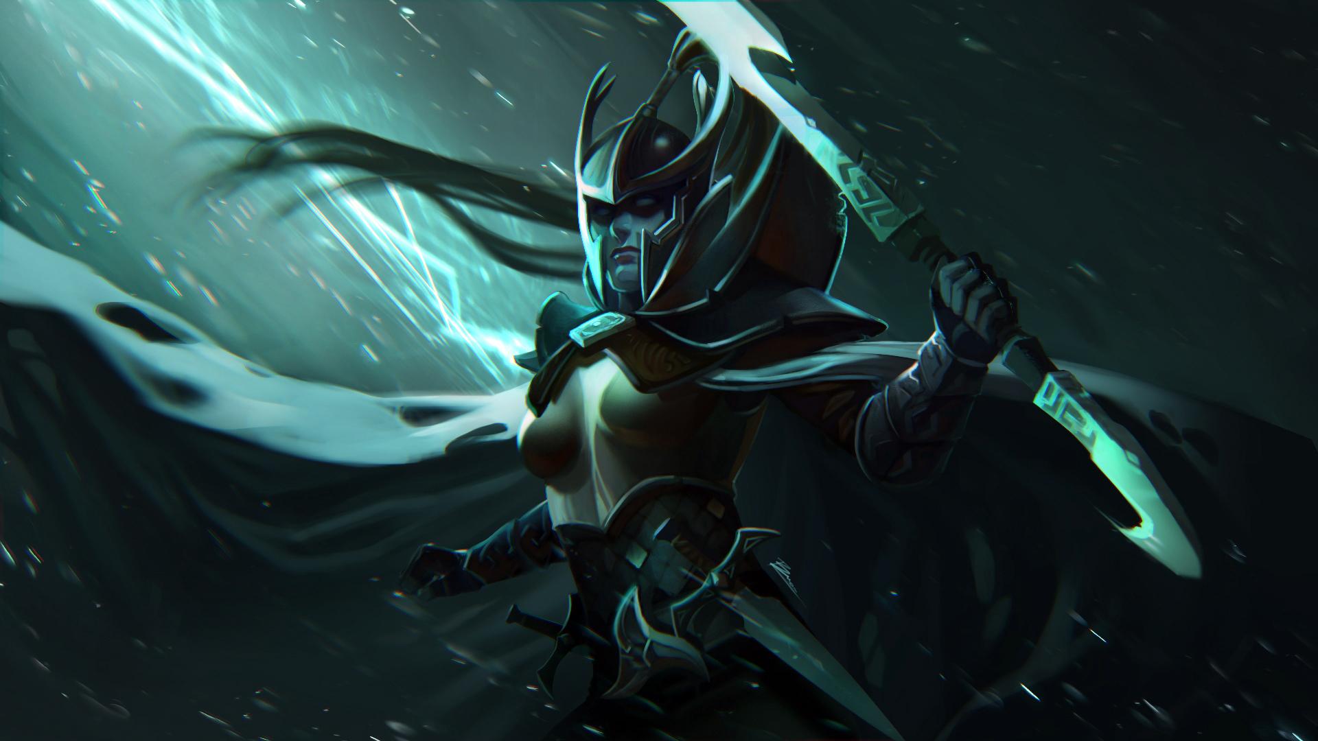 Mortred (Phantom Assassin) dota 2 RAMPAGE!!! - YouTube