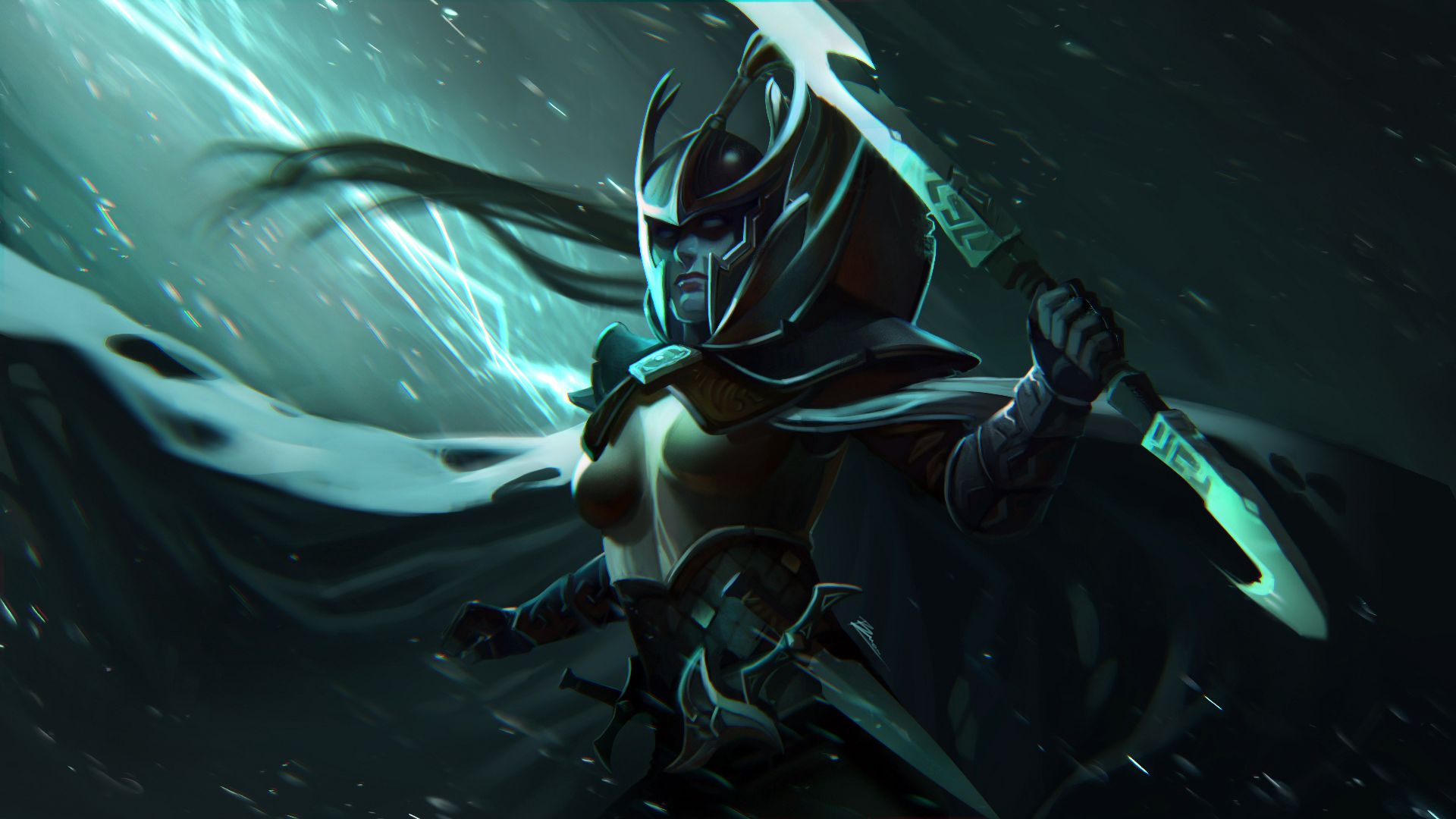 Dota 2 Phantom Assassin Wallpaper HD