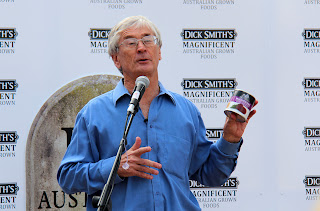 Dick Smith at Manly with Beetroot