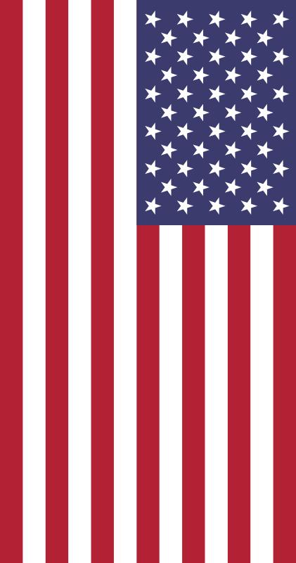 bandera de Los Estados Unidos para imprimir