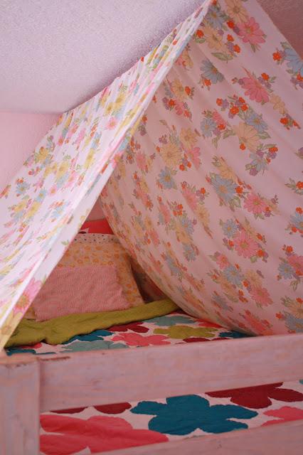 Bunkbed+tent