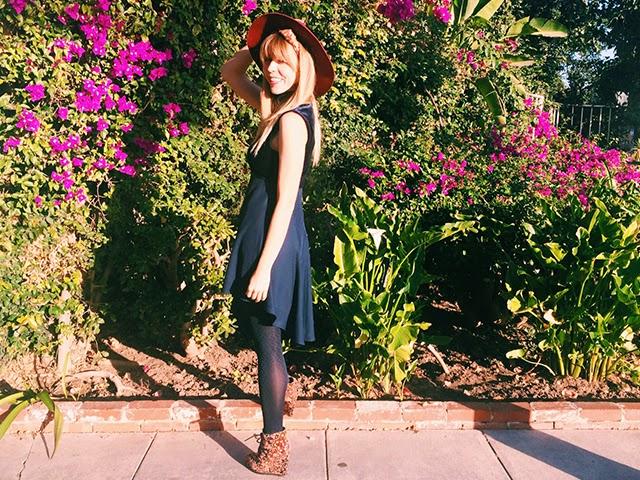 Velvet Dress After