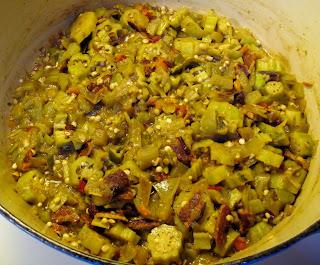 green tomato okra stew