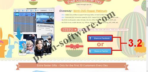 Share WinX DVD Ripper Platinum di Facebook atau Twitter