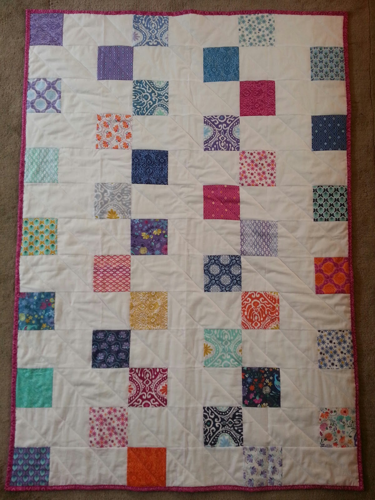 Check Mate 2 Step Quilt Tutorial Quilting In The Rain