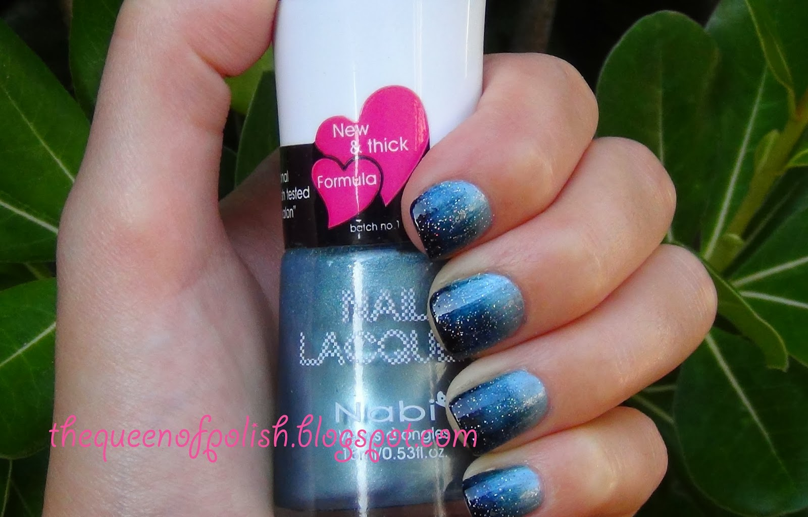 Queen Of Polish: Gradient Night Sky Nails