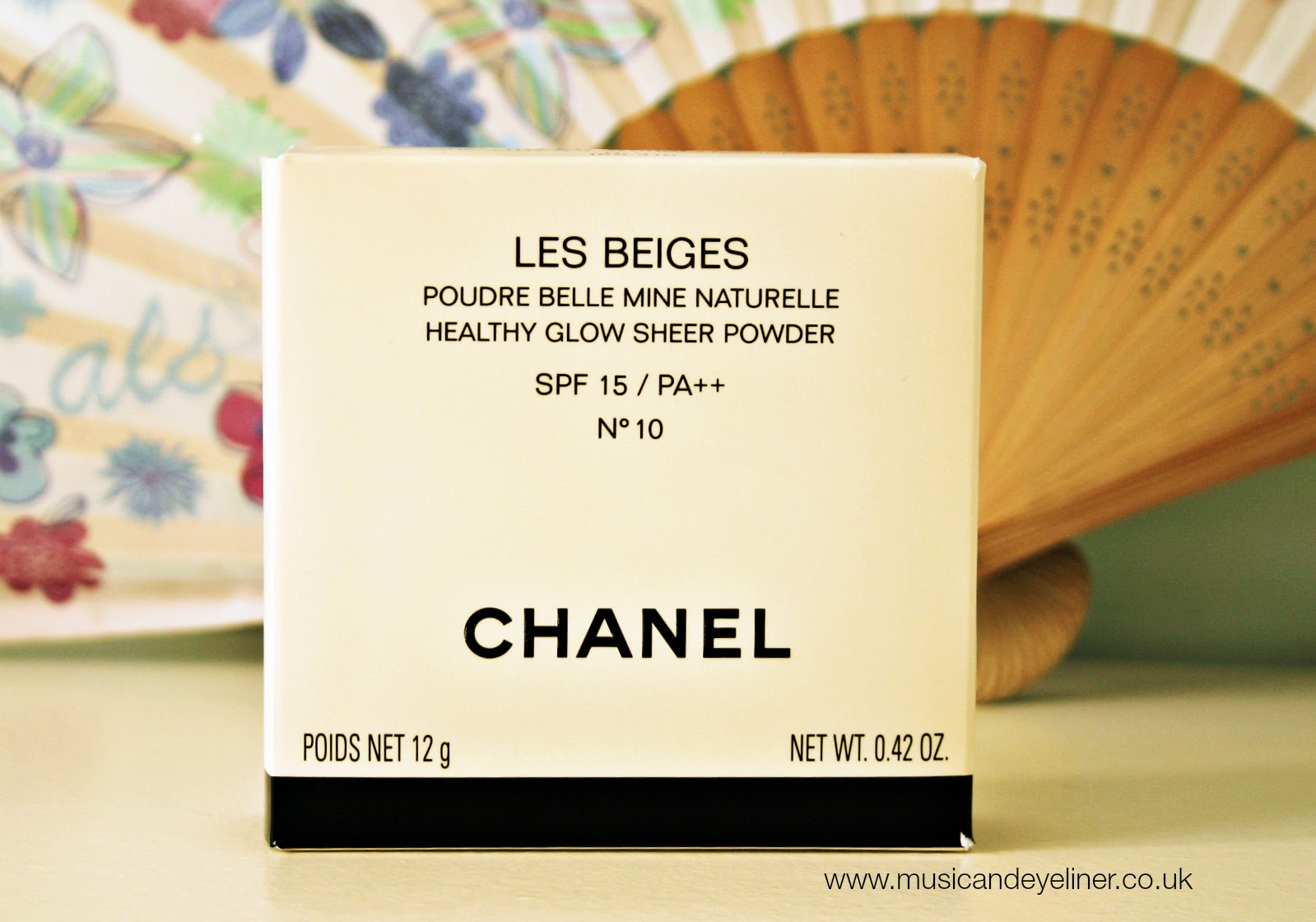 www.musicandeyeliner.co.uk photo of Chanel Les Beiges packaging