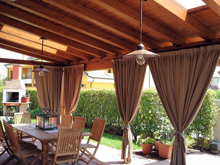 Ideas para cubrir una terraza colores en casa - Cortinas para terraza ...