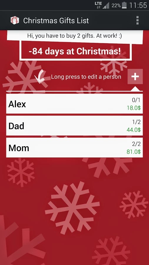 christmas gift list app switch to festive mode with these fun