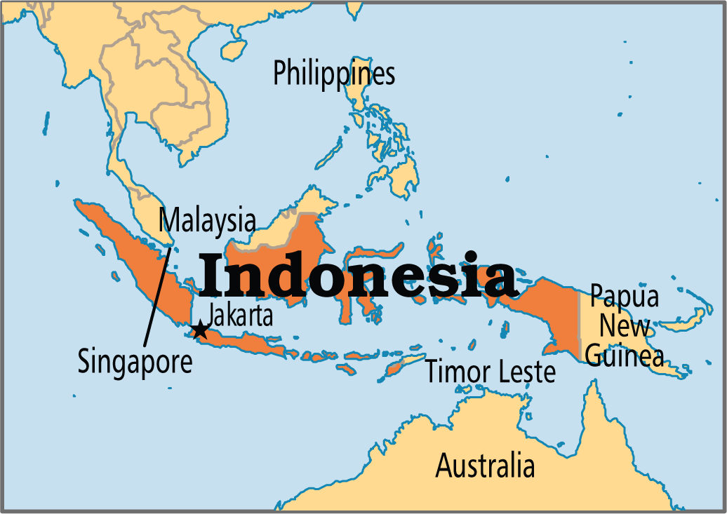 australia and indonesia a comparative Area - comparative: slightly smaller than the us contiguous 48 states all borders between indonesia and australia have been agreed upon bilaterally.