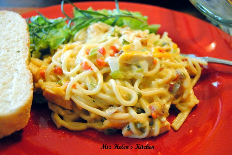 Chicken Spaghetti at Miz Helen's Country Cottage