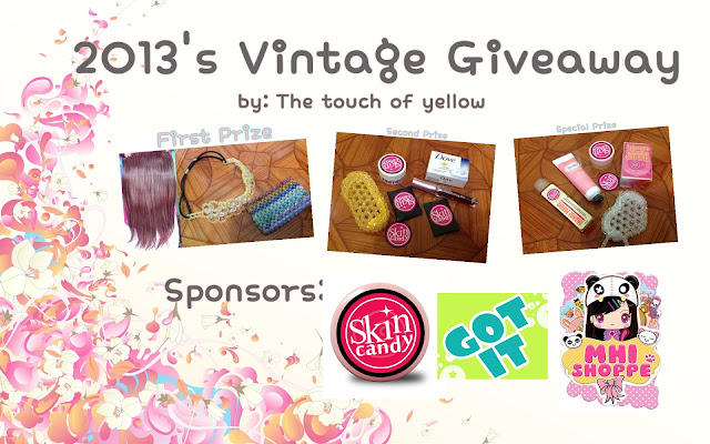 The Touch of Yellow's Vintage Makeup Contest/Giveaway