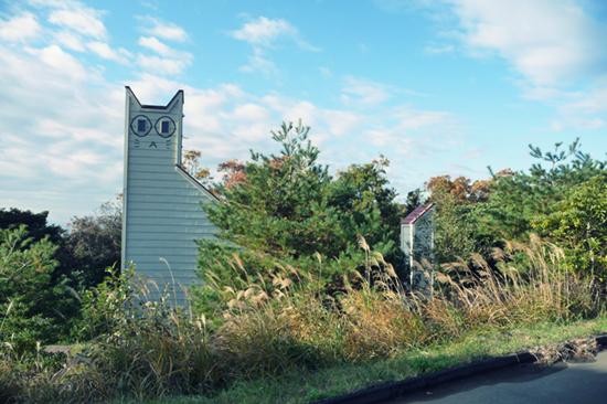 bangunan-bentuk-kucing