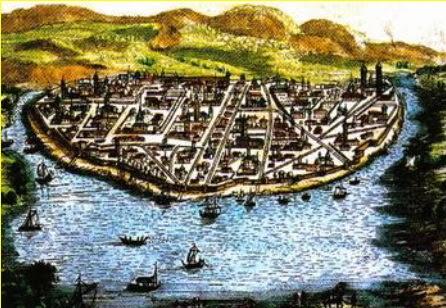 แผนที่เกาะเมืองอยุธยา