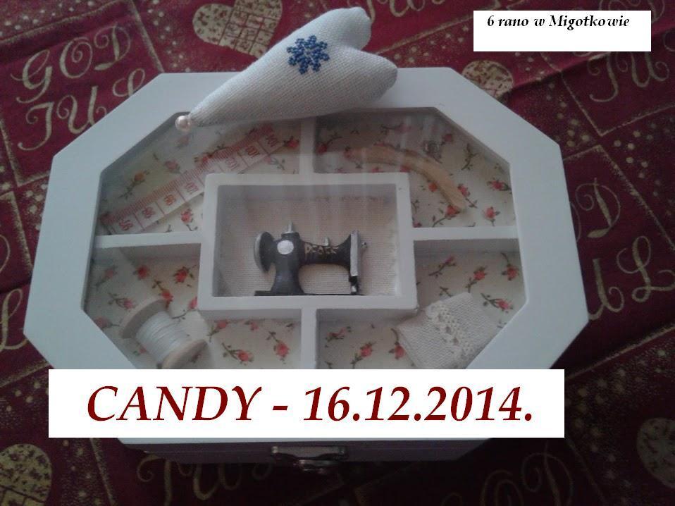 135. Ogłaszam świąteczne CANDY :)