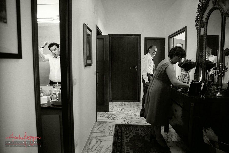 preparazione sposo matrimonio Genova
